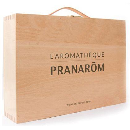 Aromatheque Pranarom Empty Wood Box
