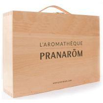 Aromatheque Pranarom Empty Wood Box