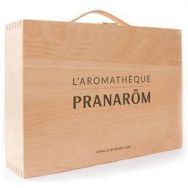 Aromatheek Pranarom  Houten Koffer Leeg