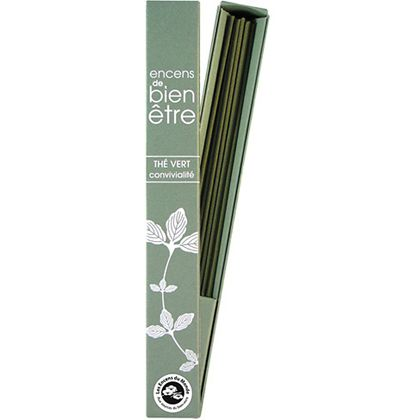 Green Tea French Well-Being Incense