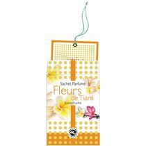 Tiare Flower Scented Sachet Encens Du Monde