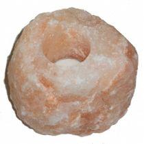 Candle Holder Salt Stone