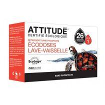 Vaatwastabletten All In 1 | 26 Stuks Attitude