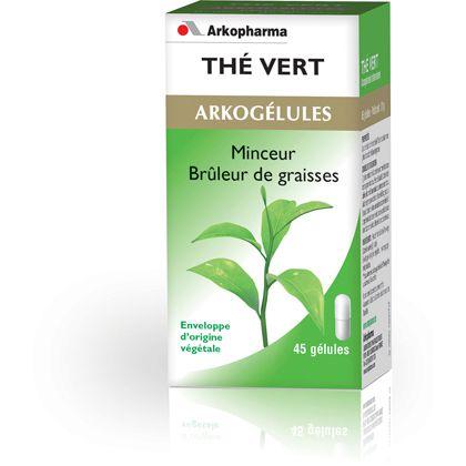 Green Tea 45 Gelules Arkopharma