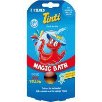 Magic Bath Fizzer Triopack Blue Red Yellow Tinti