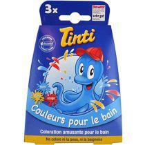 Badwaterverven Triopack Blauw Rood Geel Tinti