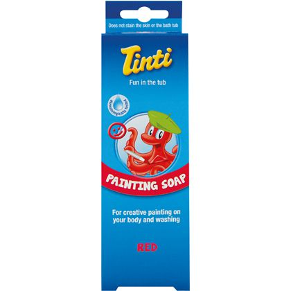 Painting Soap Red Tinti 70Ml