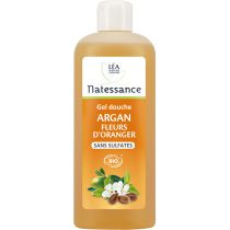 Shower Gel Orange Argan Organic 500Ml Natessance
