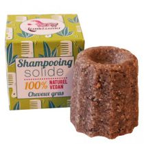 Solid Shampoo Oily Hair Vegan Lamazuna