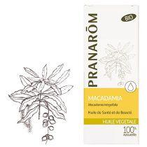 Macadamia Plantaardige Olie Bio Pranarom 50Ml