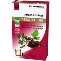 Arkofluides Lichte Benen 10 Ampules Arkopharma VERVALDATUM EIND NOV 2017