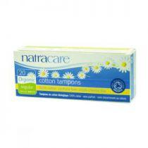 Tampons Regular Organic Cotton Without Applicator 20 Pieces Natracare