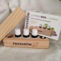 Pranabox With 3 Organic Essential Oils Pranarom