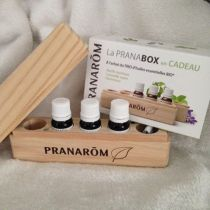 Pranabox With 3 Organic Essential Oils Pranarom