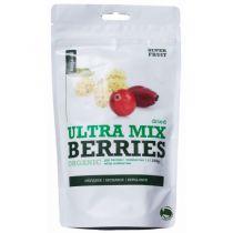 Mix Gojiberries Cranberries Mulberries Organic 200G Purasana