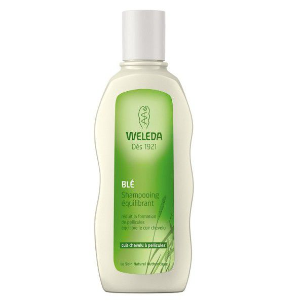 Tarwe Stabiliserende Shampoo Hoofdhuid Met Roos 190Ml Weleda VERVALT 28/02/19