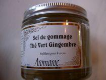 Scrub Salt Green Tea Ginger 125Ml Aromaroc