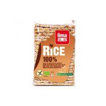 Rijstwafels Volle Rijst Met Zout 100G Lima
