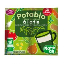 Potabio Instant Soup Nettle 2 Doses Natali