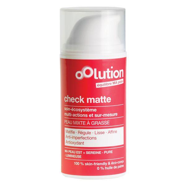 Check Matte Cream Combination To Oily Skin  30Ml Oolution