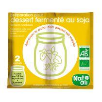 Soya dessert voorbereiding in poeder bio 2X6G Natali