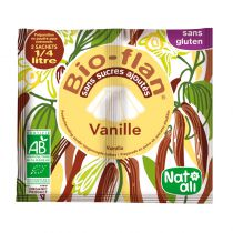 Vanilla Organic Pudding Powder Mix 2X8G Natali