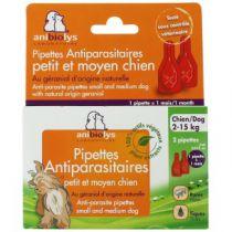 2 Antiparasitenpipetten Klein En Middelgroot Hond Anibiolys