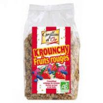 Krounchy Rode Vruchten Bio 500G Grillon D'Or