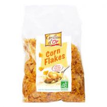 Corn Flakes Natuur Zonder Suiker Bio 500G Grillon D'Or
