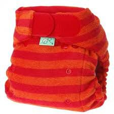 Washable Nappy Bamboo Stretch Sunset Tots Bots