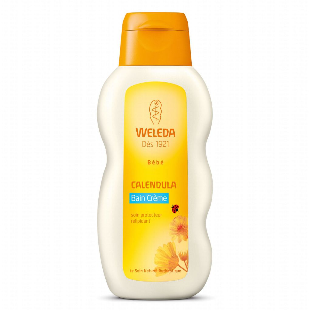 Calendula Baby Bath Cream 200Ml Weleda
