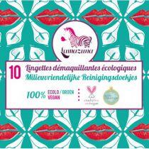 10 Reusable Wipes Lamazuna