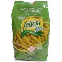 Pasta Penne 4 Granen Zonder Gluten Bio 500G Felicia