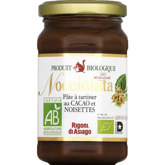 Nocciolata Organic Hazelnut Spread With Cocoa Gluten Free 700G Fiordifrutta