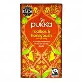 Herbal Tea Rooibos & Honeybusch Morning Time Organic 20 Bags Pukka EXPIRE END 12/18