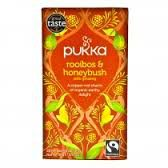 Kruidenthee Rooibos & Honeybusch Morning Time Bio 20 Zakjes Pukka