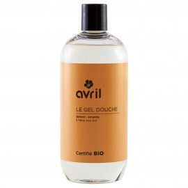 Shower Gel Apricot Almond Organic 500Ml Avril