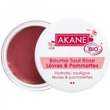 Rose Lip And Cheek Balm Organic 12G Akane Skincare