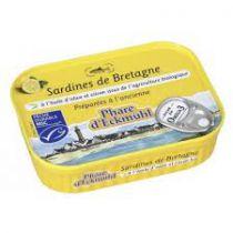 Sardines Olijfolie En Citroen Bio 115G Phare D'Eckmûhl