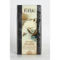 Witte Chocolade Crispy Bio 100G Vivani