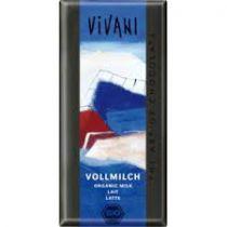 Chocolade Melk Bio 100G Vivani