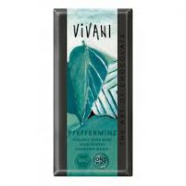 Chocolade Pepermunt Bio 100G Vivani