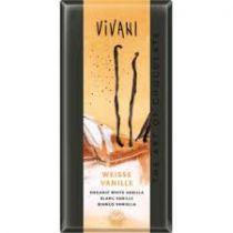 Witte Chocolade Vanille Bio 100G Vivani VERVALDATUM EIND JULI 2017