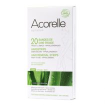 Cold Wax Hair Removal Strips Body Organic 10 X 2 Acorelle