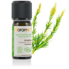 Palmarosa Essential Oil Organic 10Ml Florame EXPIRE SEPT 2020