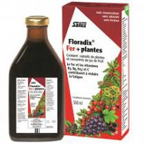 Floradix Ijzer + Planten 250Ml Salus