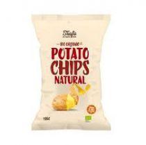 Chips Bio Natural 125G Trafo
