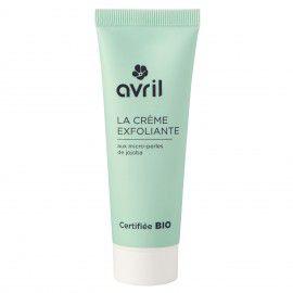 Exfoliating Face Cream Organic 50Ml Avril