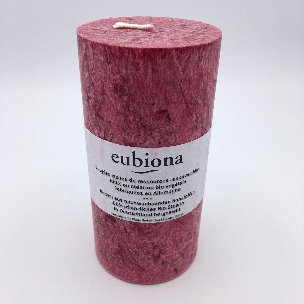 Kaars Bordeaux 75X150Mm Eubiona