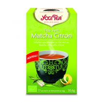 Groene Thee Matcha Citroen 17 Zakjes Yogi Tea